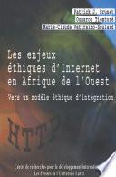 illustration du livre Les enjeux éthiques d'Internet en Afrique de l'Ouest