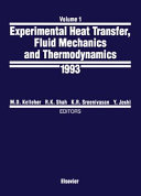 Experimental Heat Transfer  Fluid Mechanics  and Thermodynamics  1993