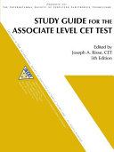 Study Guide for the Associate Level CET Test