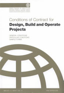 FIDIC Conditions of Contract for Design  Build and Operate Projects