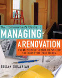 The Homeowner s Guide to Managing a Renovation