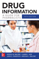 Drug Information A Guide for Pharmacists 5 E