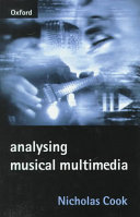 Analysing Musical Multimedia book
