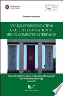 Usable Communication  Usability Evaluation of Brain computer Inter faces