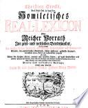 Homiletisches Real Lexicon