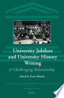 University Jubilees and University History Writing