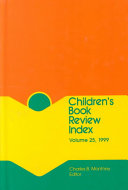 Children S Book Review Index 1999