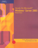 Hands on Microsoft Windows Server 2003
