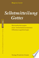 Selbstmitteilung Gottes