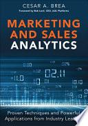 Marketing and Sales Analytics