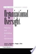 Organizational Oversight