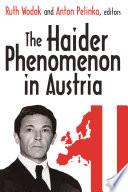 The Haider Phenomenon in Austria