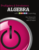 Prealgebra and Introductory Algebra with P O W E R  Learning