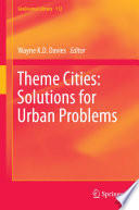 Theme Cities  Solutions for Urban Problems