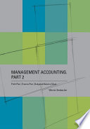 Management Accounting  Part 2     Profit Plan  Finance Plan  Budgeted Balance Sheet