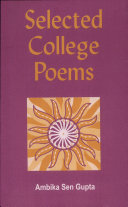 Selected College Poems