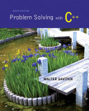 download ebook problem solving with c++ pdf epub