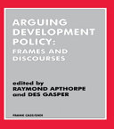 Arguing Development Policy
