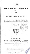 The works of m  de Voltaire  tr  with notes by T  Smollett and others