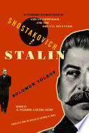 Shostakovich and Stalin