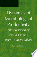Dynamics of Morphological Productivity