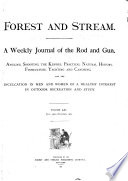 Forest and Stream Book PDF