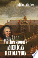 John Witherspoon s American Revolution