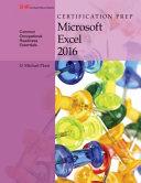 Certification Prep Microsoft Excel 2016