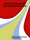 Latvian & European Current Business Law