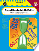 Two Minute Math Drills Grades 3 5 book