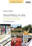 Food Policy in the United States