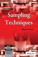 Sampling Techniques  3Rd Edition