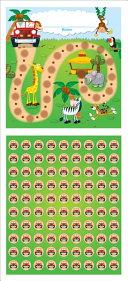 Jungle Safari Mini Incentive Charts