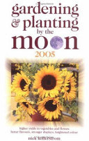 Gardening   Planting by the Moon