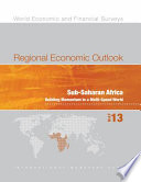 Regional Economic Outlook  May 2013