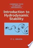 Introduction to Hydrodynamic Stability