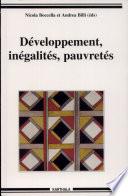Développement, inégalités, pauvretés