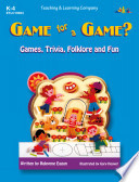 Game for a Game   ENHANCED eBook
