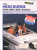 MerCruiser Stern Drive Shop Manual