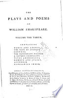 The Plays And Poems Of William Shakspeare : ...