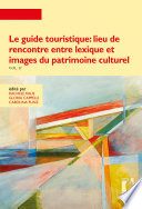 illustration Le guide touristique: lieu de rencontre entre lexique et images du patrimoine culturel