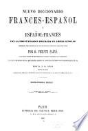 Nuevo diccionario franc  s espa  ol y espa  ol franc  s
