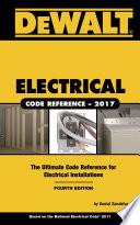 Dewalt Electrical Code Reference Based On The 2017 Nec