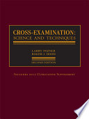 Cross Examination  Science and Techniques