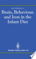 Brain Behaviour And Iron In The Infant Diet book