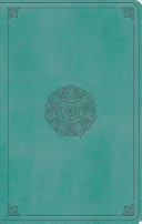 ESV Large Print Value Thinline Bible (Trutone, Turquoise, Emblem Design) : ...