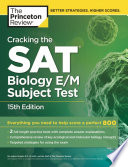 Cracking The S A T Biology E M Subject Test