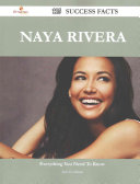 Naya Rivera 115 Success Facts   Everything You Need to Know about Naya Rivera