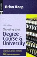 Choosing Your Degree Course and University
