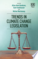 Trends In Climate Change Legislation : caused a recent and rapid...